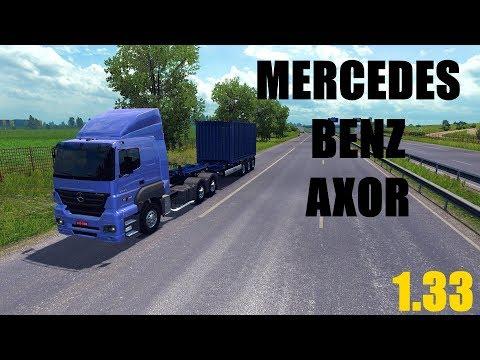 ETS 2: Mercedes Benz Axor Kamyon Modu 1.33