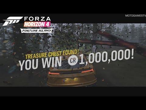 Forza Horizon 4 - All 10 Riddles And Treasure Chest Locations (Fortune Island Treasure Hunt)