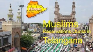 KCR assures 12% reservation to Muslims | Telangana State | Hyderabad Muslims
