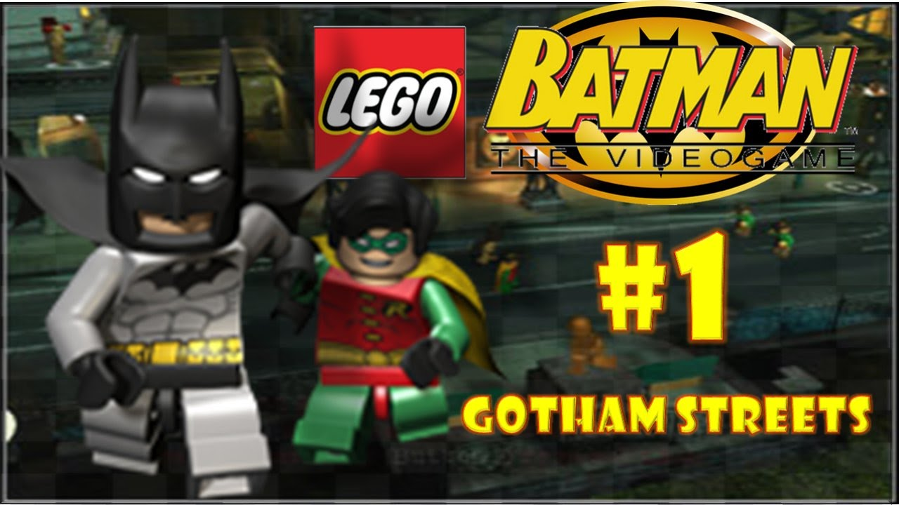 LEGO Batman: The Videogame (DS) - Part 1: Gotham Streets ...