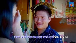 Thov Kom Luag Hlub Koj ( KARAOKE ) BY Hwj Chim Vaj