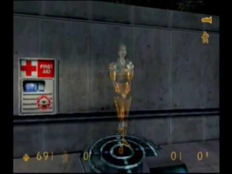 Half Life (Hazard Course Tutorial) Dreamcast Game Complete Walkthrough / Playthrough