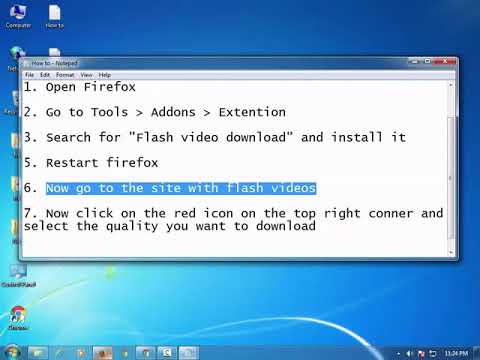 Download ANY FLASH VIDEO from any Site with this Firefox addon
