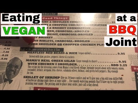 Eating Vegan at a Famous Memphis BBQ Joint