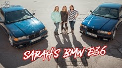 BMW E36 Coupé | Kfz-Meisterin Sarah's E36 | CarGirls | Lisa Yasmin