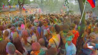 Фестиваль красок Холи в городе Ейске/  Hey Marry   /2015 год(Всем привет , я Маша , мне 14 лет . В этом видео я хочу вам показать как же я провела самый яркий день лета 2015..., 2015-08-03T15:45:53.000Z)