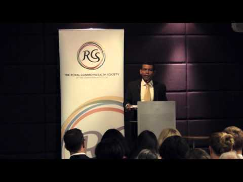 Mohamed Nasheed at the RCS