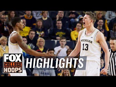 Michigan vs Minnesota | Highlights | FOX COLLEGE HOOPS