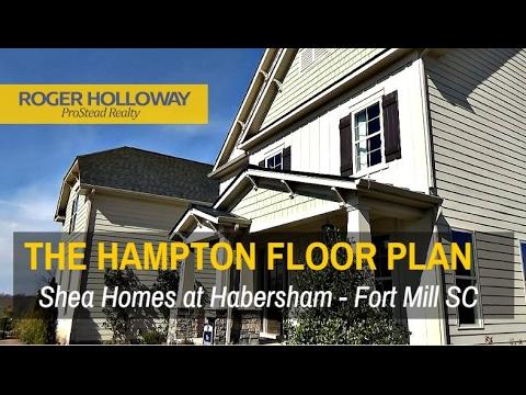 Shea Homesu0027 HAMPTON Floor Plan   Habersham In Fort Mill SC