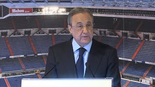 Rueda de prensa de Julen Lopetegui y Florentino Pérez