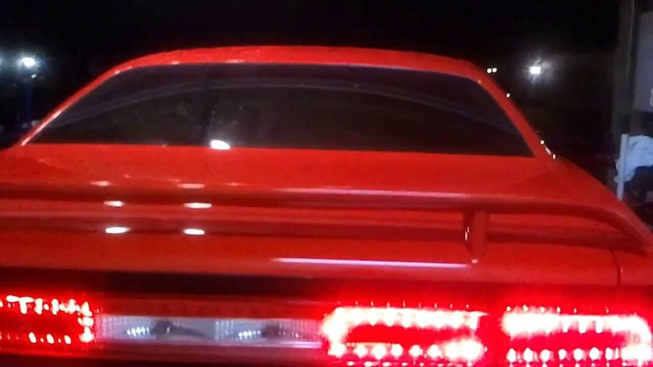 Led Back Tail Lights For A Dodge Challenger Youtube