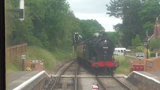 West Somerset Railway Timelapse - Bishops Lydeard to Minehead