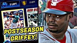 NEW DRAFT! 99 POSTSEASON GRIFFEY IS ON THE SQUAD!! MLB THE SHOW 17 BATTLE ROYALE