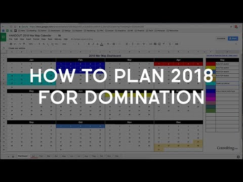 How I'm Plotting 2018 And How You Can Use My Strategy And Tools For FREE
