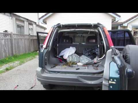 How To Replace Honda Cr V Hatch Glass Youtube
