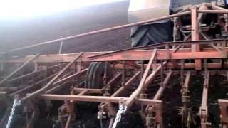 6) Трактор Бизон, Т 150, МТЗ 82 культивация.