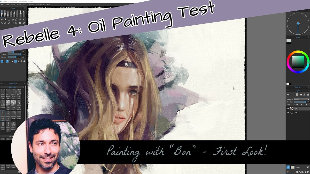 Download First Look: Oil Painting in Rebelle 4