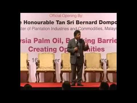 """Malaysian Palm Oil Council POTS KL 2012 - """"Opportunities in Palm Oil"""" by Dato' Seri Idris Jala"""