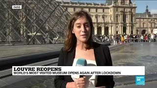 'A more intimate experience': Louvre museum reopens after 16-week shutdown
