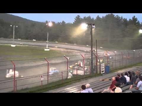 Bear Ridge Speedway #57 USAC Dirt Midget 7/27/2013 Part II