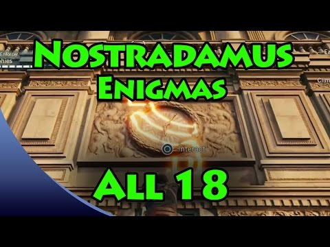 Assassin's Creed Unity - Nostradamus Enigma Solutions [All 1