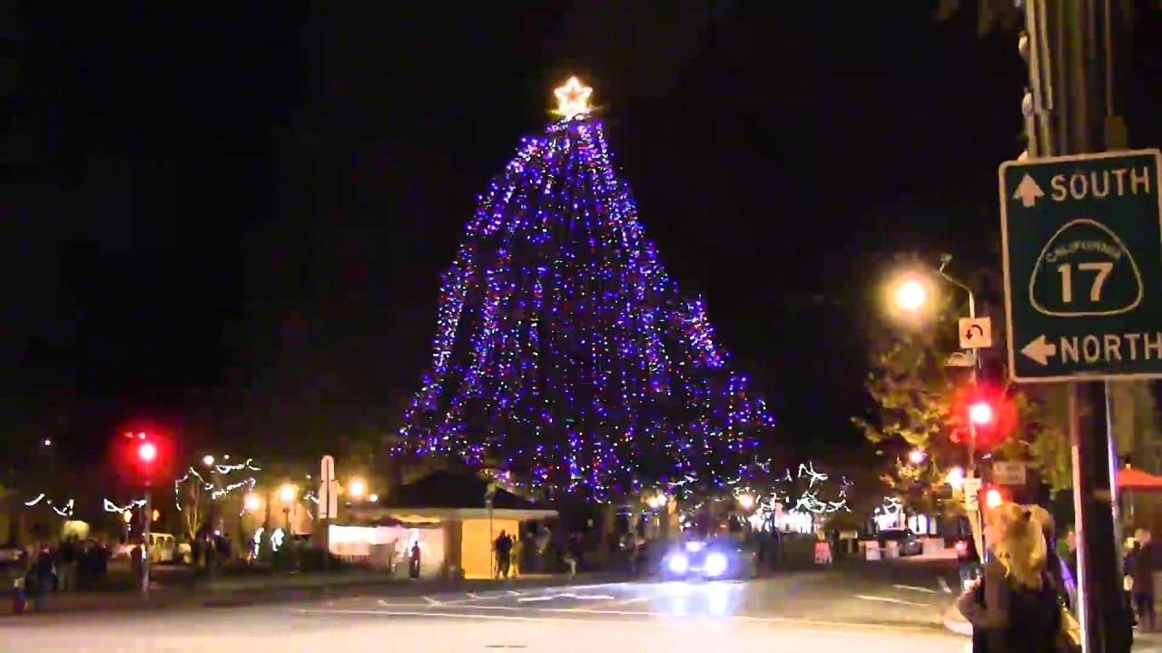 Los Gatos Christmas Tree Lighting