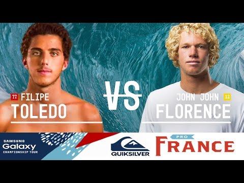 Quiksilver Pro France: Quarterfinals, Heat 2
