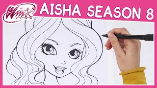 Winx Club - Season 8 - How to Draw Aisha [TUTORIAL]