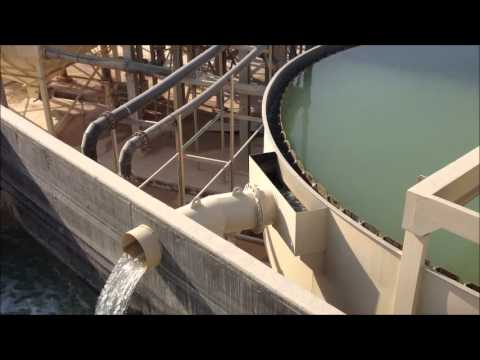 Qatar 350 t/hr Aggregates Sand Washing PLant - Water Recycle & Sludge Handling System - Part 4.wmv