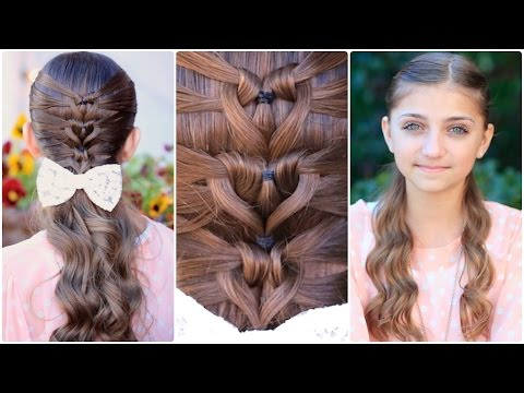 Mermaid Heart Braid Valentines Day Hairstyles YouTube - Hairstyle for valentine's dance