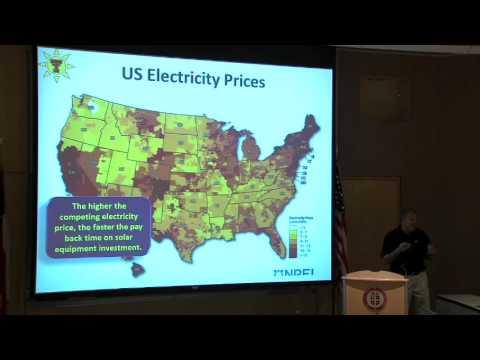 """CSC Seminar 2014: Tim Dallas """"Shining Light on Solar Energy"""""""