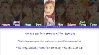 TWICE (트와이스) - 'TRICK IT' Lyrics Color Coded Han/Rom/Eng
