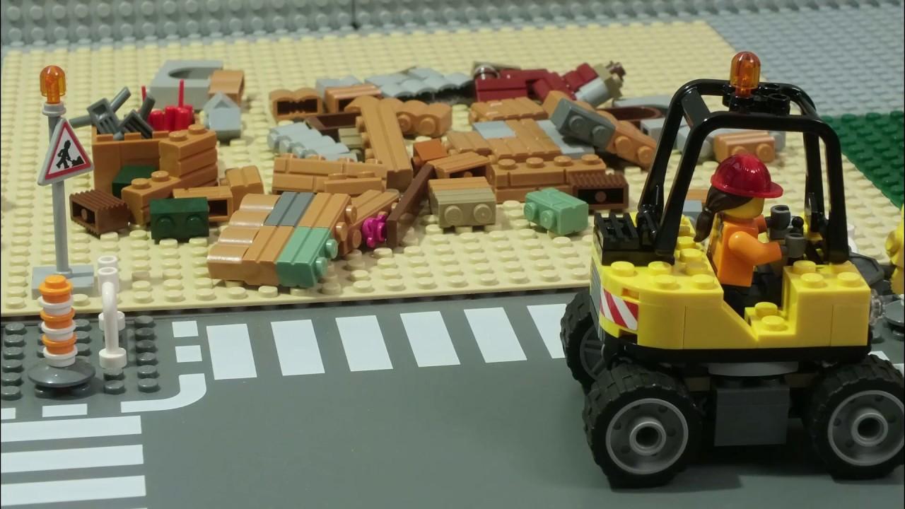 LEGO City 60076: Снос старого здания - YouTube