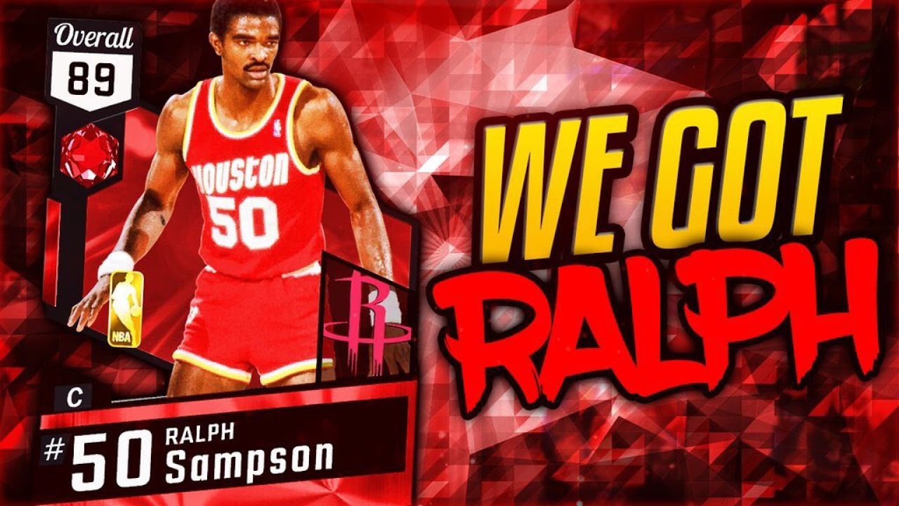 NBA 2K17 MYTEAM NEW RUBY GOD CENTER RALPH SAMPSON HES BETTER THAN