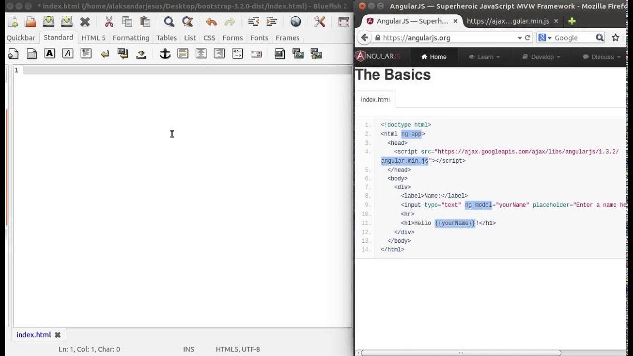 Angular js start from scratch begineers tutorial part i youtube angular js start from scratch begineers tutorial part i baditri Choice Image