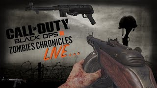 BLACK OPS 3 ZOMBIES CHRONICLES LIVE STREAM! CLASSIC WORLD AT WAR MAPS W FRIENDS! PPSH, MP40 & MORE!