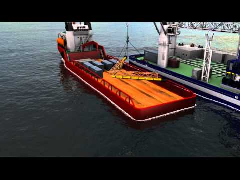 4004 ASV Subsea construction animation