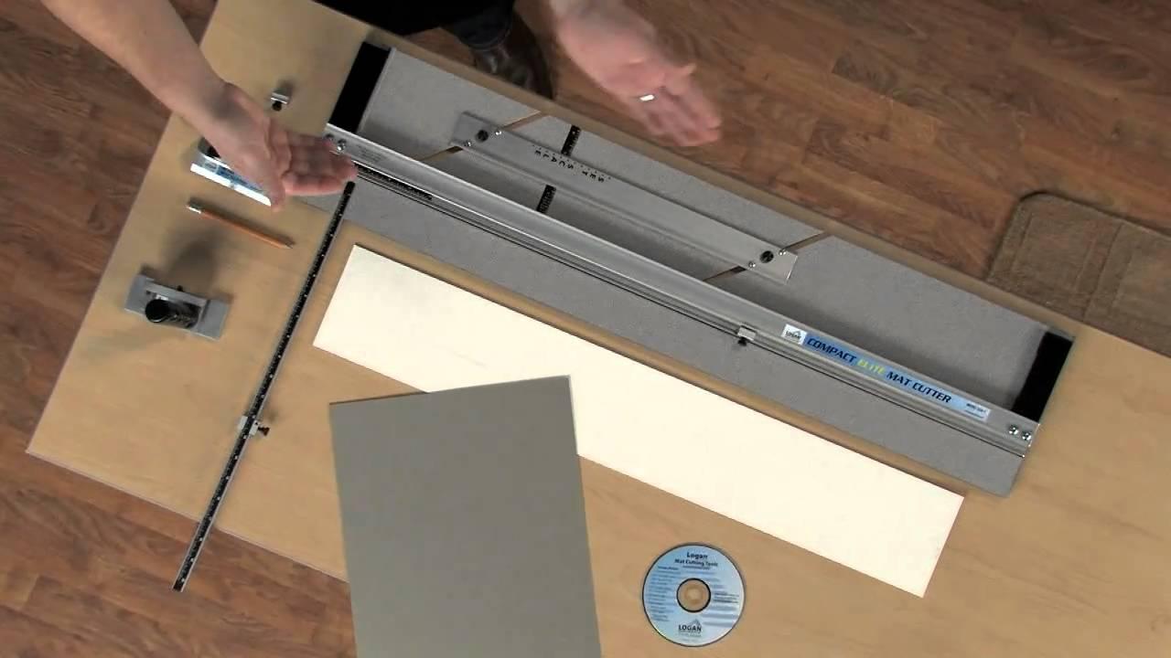 Logan Compact Elite Mat Cutter Features Youtube