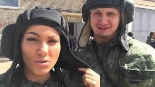 Как мы ездили на военный полигон)