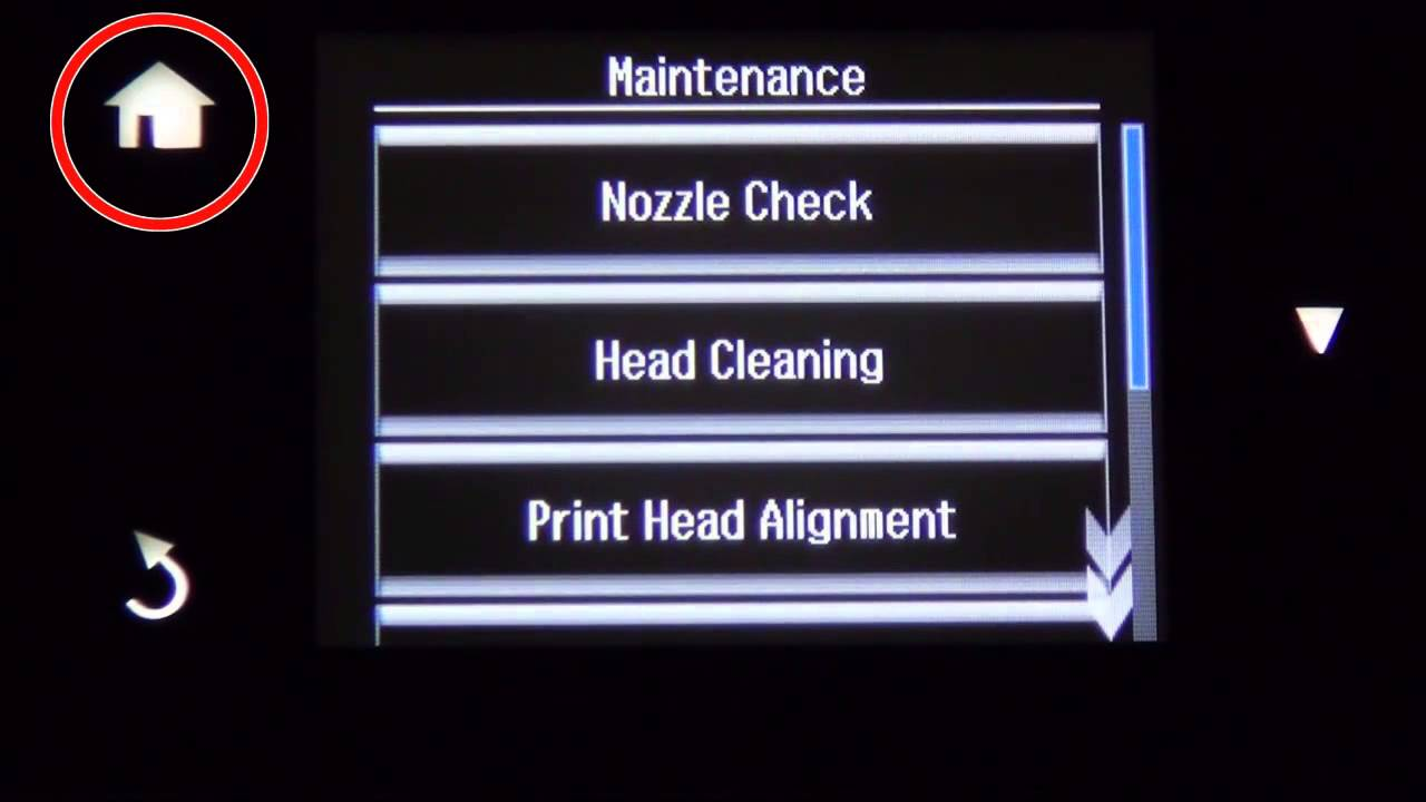 How to Remove Incorrect Color or Missing Lines - Head Cleaning (Epson  XP-640,XP-830) NPD5151