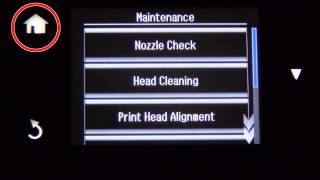 How to Remove Incorrect Color or Missing Lines - Nozzle Cleaning (Epson XP-640,XP-830) NPD5151