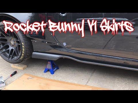 INSTALLING ROCKET BUNNY V1 SKIRTS / VLOG #21