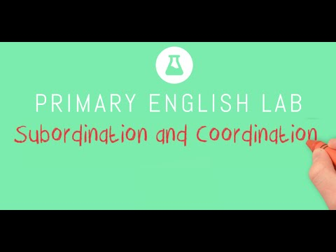 Animated Grammar Guides: Subordination and Coordination