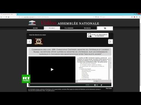 Violences à Paris : Castaner et Nuñez auditionnés à l'Assemblée nationale