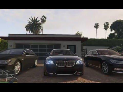 GTA V BMW 7 series E38 E65 F01 G11  MOD