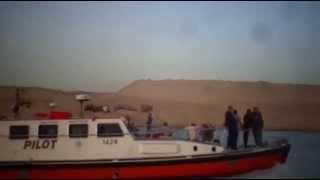 قناة السويس الجديدة : جولةوزير العدل  الزند  والمفتى فى قناة السويس الجديدة