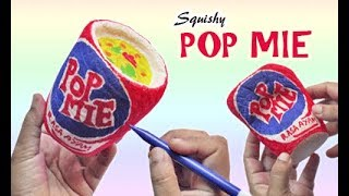 Cara Membuat Squishy Pop Mie how to make squishy Pop Mie