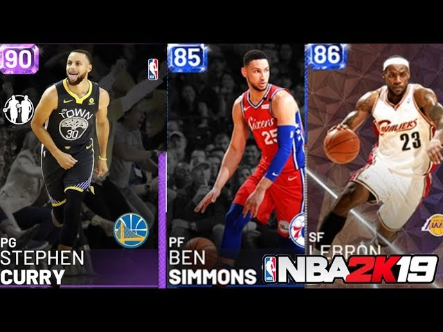 SAPPHIRE LEBRON? PREMIERE PACK OPENING! - NBA 2K19 MyTeam Gameplay
