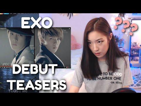 EXO Full Debut Teasers Reaction