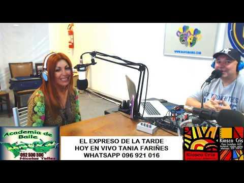 "TANIA FARIÑES ""RADIO CHARRUA"" MONTEVIDEO"